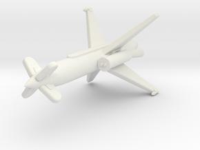(1:144) Rheinmetall-Borsig Rheintochter III in White Natural Versatile Plastic