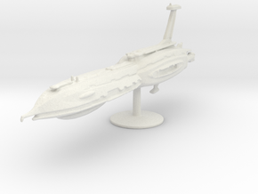 10000 Separatist Providence class Star Wars in White Natural Versatile Plastic