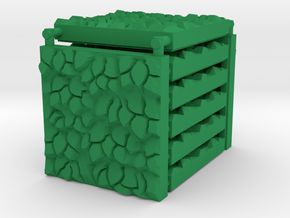 3x3 Hedge Tile Set in Green Processed Versatile Plastic