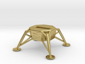 USB flash Drive Spacecraft (Lunar Module) in Natural Brass