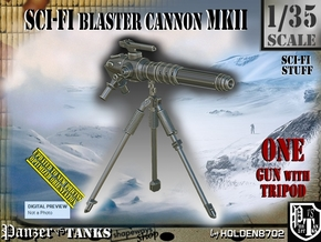 1/35 Sci-Fi Blaster Cannon MkII Set001 in Smooth Fine Detail Plastic