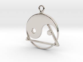 Yin-Yang and triangle intertwined in Platinum
