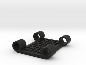 Preston MDR Bracket for 15mm Bars in Black Natural Versatile Plastic