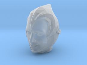 Open Helmet in Smooth Fine Detail Plastic