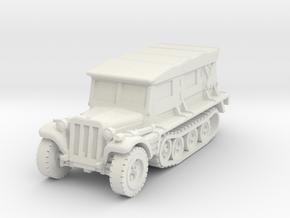sdkfz 10 b scale 1/87 in White Natural Versatile Plastic