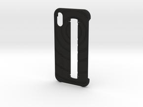 Structure Sensor Case - iPhone X in Black Premium Versatile Plastic