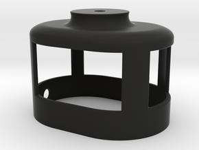 Zoom H2n Upper Cover (1 of 2) in Black Natural Versatile Plastic