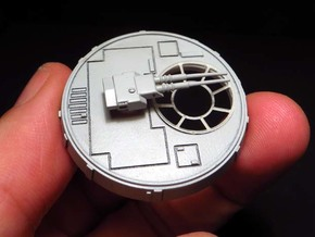 YT1300 BANDAY 1/144 LC MCQUARRIE CANNON W BASE in Smooth Fine Detail Plastic
