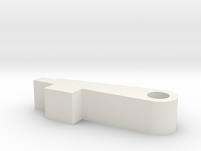 Flatnub srs Fits fasthop in White Natural Versatile Plastic