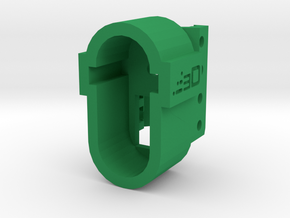 M4 Receiver Picatinny Mount Adapter Type I (20mm) in Green Processed Versatile Plastic