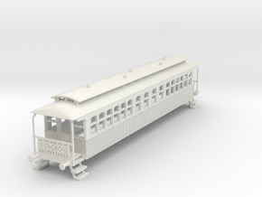 o-76-wcpr-bogie-coach in White Natural Versatile Plastic