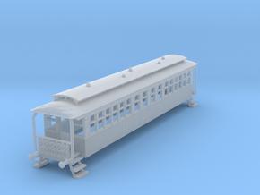 o-148fs-wcpr-bogie-coach in Smooth Fine Detail Plastic