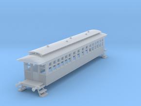 o-148fs-bas-wcpr-bogie-coach in Smooth Fine Detail Plastic