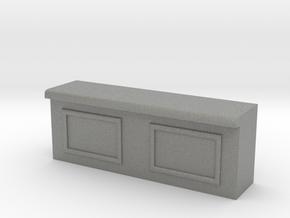 Modular Bar Counter - Center in Gray Professional Plastic