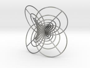 Hopf-12 circles in Natural Silver