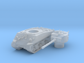 M4A3 76 scale 1/144 in Smooth Fine Detail Plastic