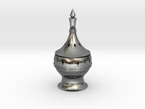Inscent Burner #1 in Polished Silver