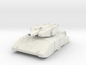Light Thermal Tank in White Natural Versatile Plastic