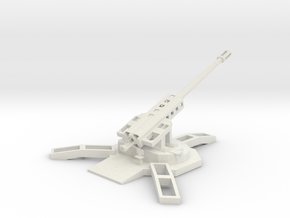 GPREDA Artillery Station in White Natural Versatile Plastic