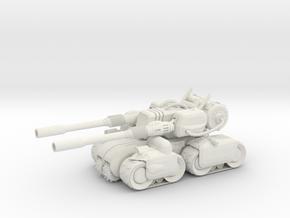 Apocalypse Nae Tank  in White Natural Versatile Plastic