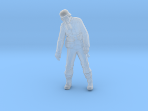 Nazi Zombie - Chemical Agent in Smooth Fine Detail Plastic: 15mm