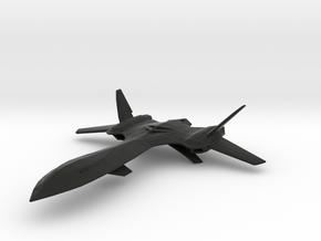 X-Men Jet (Blackbird) 1/160 in Black Natural Versatile Plastic