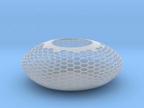 Bowl BlackJ2144 in Smooth Fine Detail Plastic