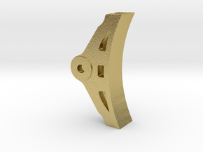 "3/4"" EMD Brake Shoe in Natural Brass"