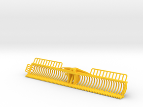 4 Meter Maaikorf in Yellow Processed Versatile Plastic
