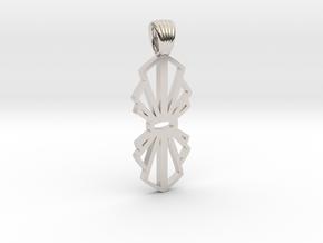 Node [pendant] in Platinum