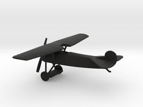Fokker D.VIII in Black Natural Versatile Plastic: 1:87 - HO