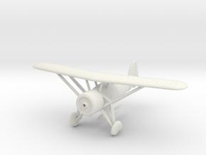 1/144 Morane-Saulnier M.S.225 in White Natural Versatile Plastic