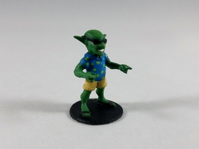 Swag Goblin in Smooth Fine Detail Plastic