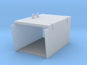 2 cm Closed Ammo boxes 1/35 in Smooth Fine Detail Plastic