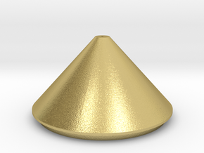 JRAN900-B Wideband Antenna in Natural Brass