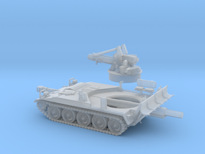 M-110A2-3 Piezas-144 in Smooth Fine Detail Plastic