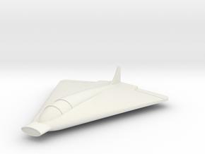 (1:144) Lippisch Li P.12 Entwurf IV in White Natural Versatile Plastic