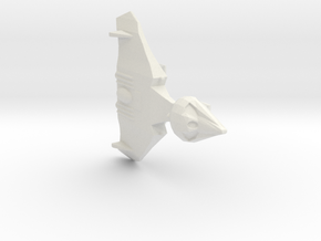 Duck Shuttle with landing gear in White Natural Versatile Plastic