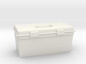 WPL 1/16th scale toolbox in White Natural Versatile Plastic