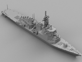 1/1800 JS Kongō-class destroyer in Smooth Fine Detail Plastic