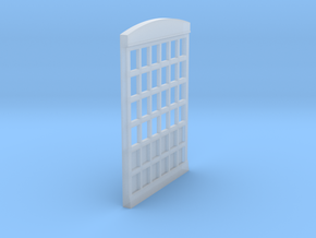 HO Scale Firehouse Door in Smooth Fine Detail Plastic