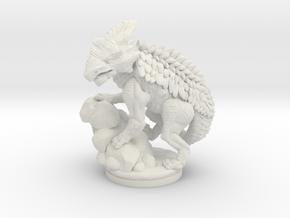 Armored_Dragon in White Natural Versatile Plastic