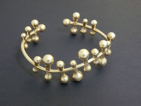 Twisttwig bracelet in Natural Brass