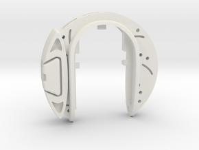 BRAKE DISC w CALIPER KEY FOB  in White Natural Versatile Plastic