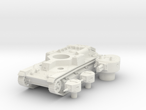 T 28 (early) scale 1/100 in White Natural Versatile Plastic