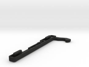 Bosch Neff Siemens Door Catch Hook Left in Black Natural Versatile Plastic