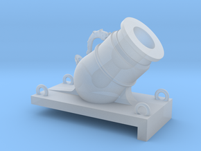 1/48 Mortier de 12£ -1765 -X1 in Smooth Fine Detail Plastic