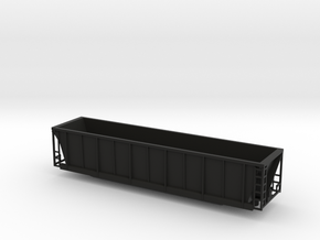 TT Scale Bath Tub Gon in Black Natural Versatile Plastic