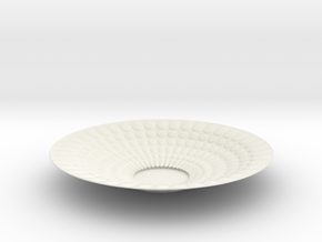 Plate Bowl 1345 in White Natural Versatile Plastic