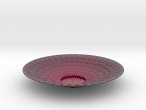 Plate Bowl 1345 in Glossy Full Color Sandstone